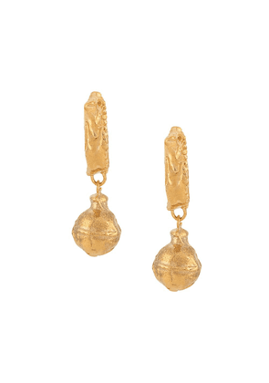 Alighieri The Fragments Of The Shore earrings - GOLD