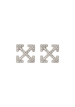 Off-White stud earrings - SILVER