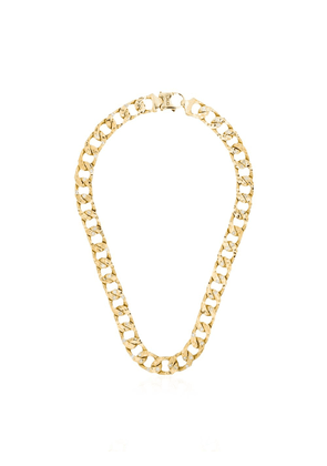 LAUD 18kt yellow gold curb diamond necklace