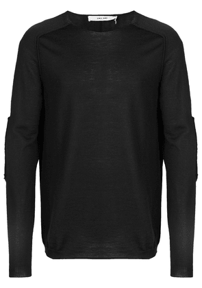 Damir Doma Damir Doma x Lotto patch sleeves sweater - Black