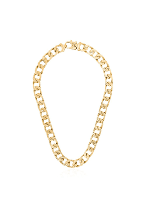 LAUD 18kt gold curb chain necklace - YELLOW GOLD