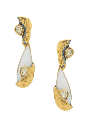 Camila Klein Pedra Natural earrings - GOLD