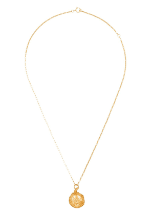 Alighieri St. Christopher 24kt gold-plated necklace