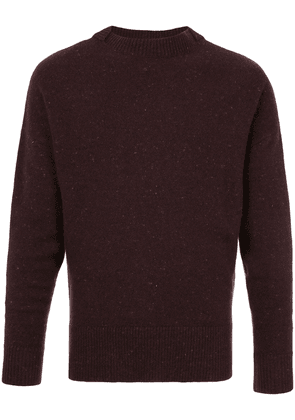 Cerruti 1881 crew neck jumper - Red