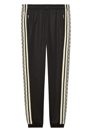 Gucci Oversize technical jersey jogging pant - Black