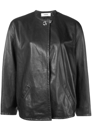 Chalayan concealed front jacket - Black