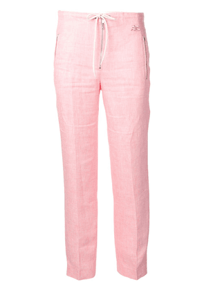 Courrèges straight-leg trousers - PINK
