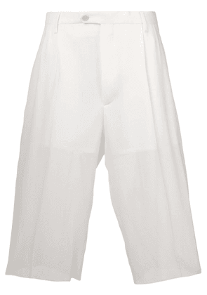 Maison Margiela high-waisted shorts - White