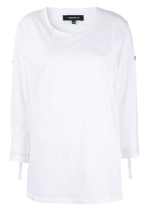 Barbara Bui long-sleeve jersey tee - White