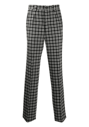 Givenchy high-waist plaid trousers - Black