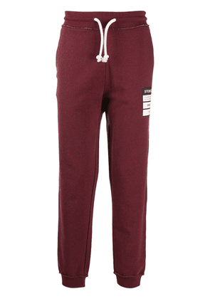 Maison Margiela drawstring track pants - Red