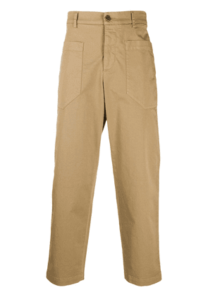 Barena cropped straight-leg trousers - Brown