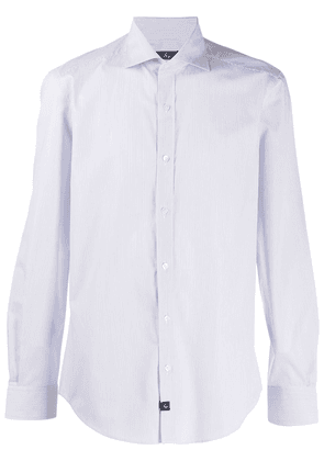 Fay long sleeve fitted shirt - Blue