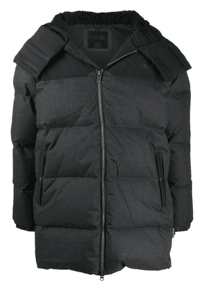 The North Face hooded padded coat - Grey