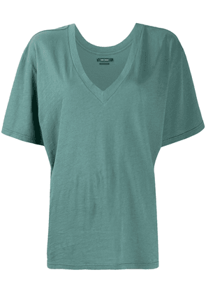 Isabel Marant V-neck T-shirt - Green