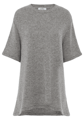 Prada knitted cashmere top - Grey
