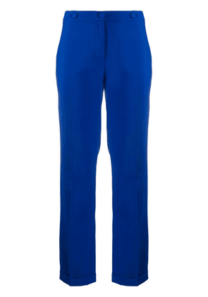 Federica Tosi mid-rise slim fit trousers - Blue