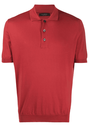 Ermenegildo Zegna short-sleeve polo shirt - Red