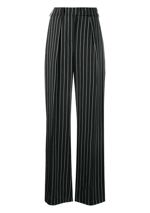 Alexandre Vauthier pinstripe tailored trousers - Black