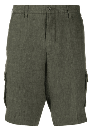Barba classic army shorts - Green