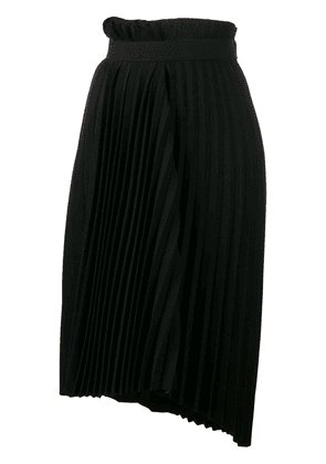 Balenciaga Fancy pleated asymmetric skirt - Black