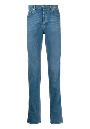 Givenchy low-rise side-logo jeans - Blue