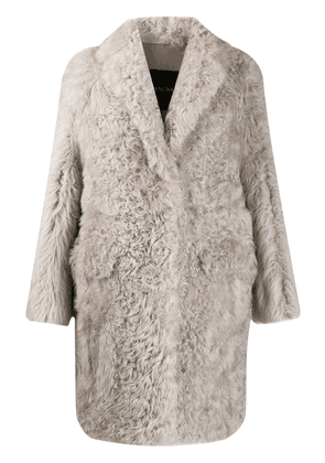 Blancha textured coat - Grey