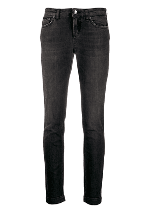 Dolce & Gabbana low-rise skinny jeans - Black