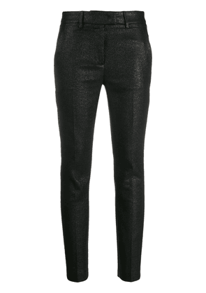 Dondup straight leg cropped trousers - Black