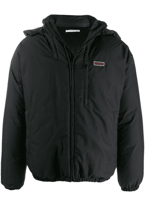 Givenchy hooded zip-up jacket - Black