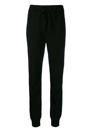Dolce & Gabbana high waisted track trousers - Black
