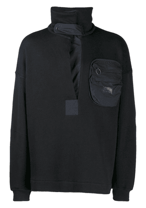 Damir Doma patch pocket sweater - Black
