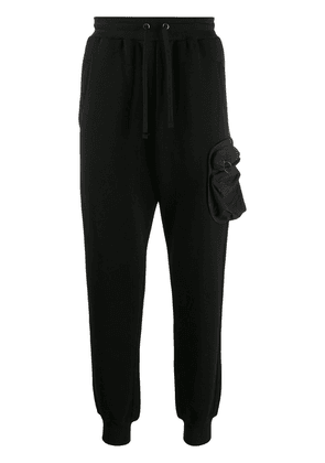 Damir Doma side pocket track pants - Black
