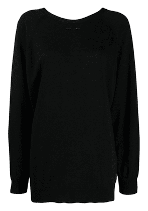 Barbara Bui round neck jumper - Black