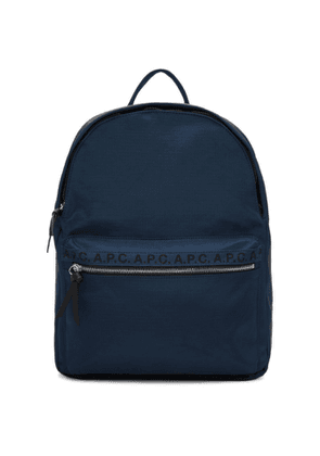A.P.C. Navy Marc Backpack