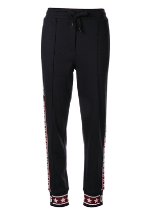 Dolce & Gabbana side-stripe tracksuit bottoms - Black