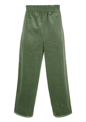 Camiel Fortgens cropped wide-leg trousers - Green