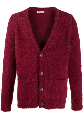 Al Duca D'Aosta 1902 knitted cardigan - Red