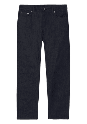Burberry mid-rise straight jeans - Blue