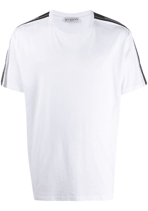 Givenchy side panelled T-shirt - White