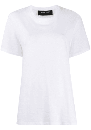 Neil Barrett panelled T-shirt - White