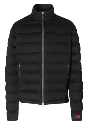 Burberry short quilted puffer jacket - Black