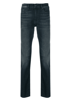 BOSS mid-rise slim jeans - Blue