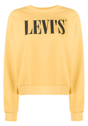 Levi's Diana relaxed-fit sweatshirt - Yellow