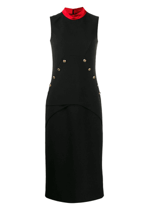 Givenchy 4G buttons fitted dress - Black