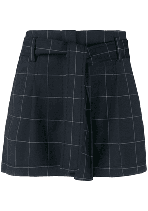 3.1 Phillip Lim checked shorts - Blue