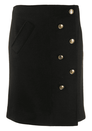 Givenchy buttoned short skirt - Black