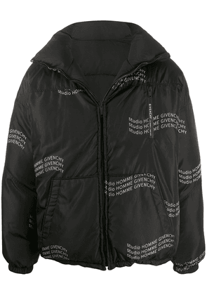 Givenchy Studio Homme reversible padded jacket - Black