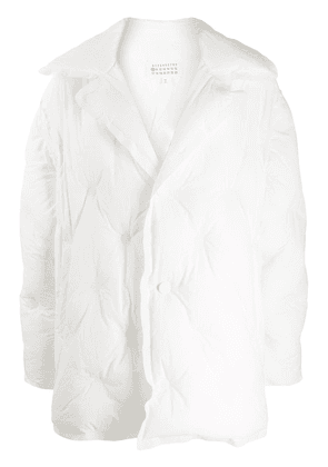 Maison Margiela Glam Slam padded coat - White