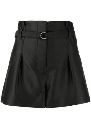 3.1 Phillip Lim high-waisted belted shorts - Black